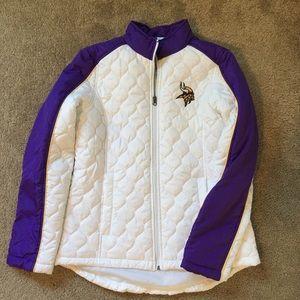NFL Minnesota Vikings woman's coat